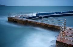 Pool Closed For Winter (Duncan George) Tags: ocean longexposure seascape nature landscape landscapes nikon swimmingpool devon lido brixham seapool openairpool leefilter d700 shoalstonepool duncangeorgesignsofwinter