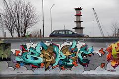graffiti (wojofoto) Tags: streetart amsterdam graffiti beast 2012 ndsm wojofoto