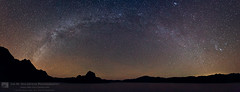 Milky Way Over Death Valley (jimgoldstein) Tags: california sky usa nature night racetrack canon dark stars landscape star us nationalpark unitedstates desert nobody panoramic astrophotography northamerica deathvalley starry milkyway jimmgoldstein 5dmarkii