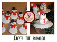 Frosty cupcakes and Cookies