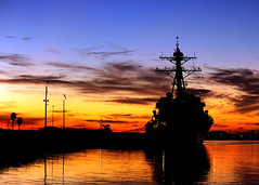 USS Spruance is pierside at Naval Weapons Station Seal Beach. (Official U.S. Navy Imagery) Tags: usa unitedstates military navy usnavy