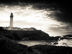 Lighthouse (susivinh) Tags: ocean california light lighthouse house luz faro casa pacific