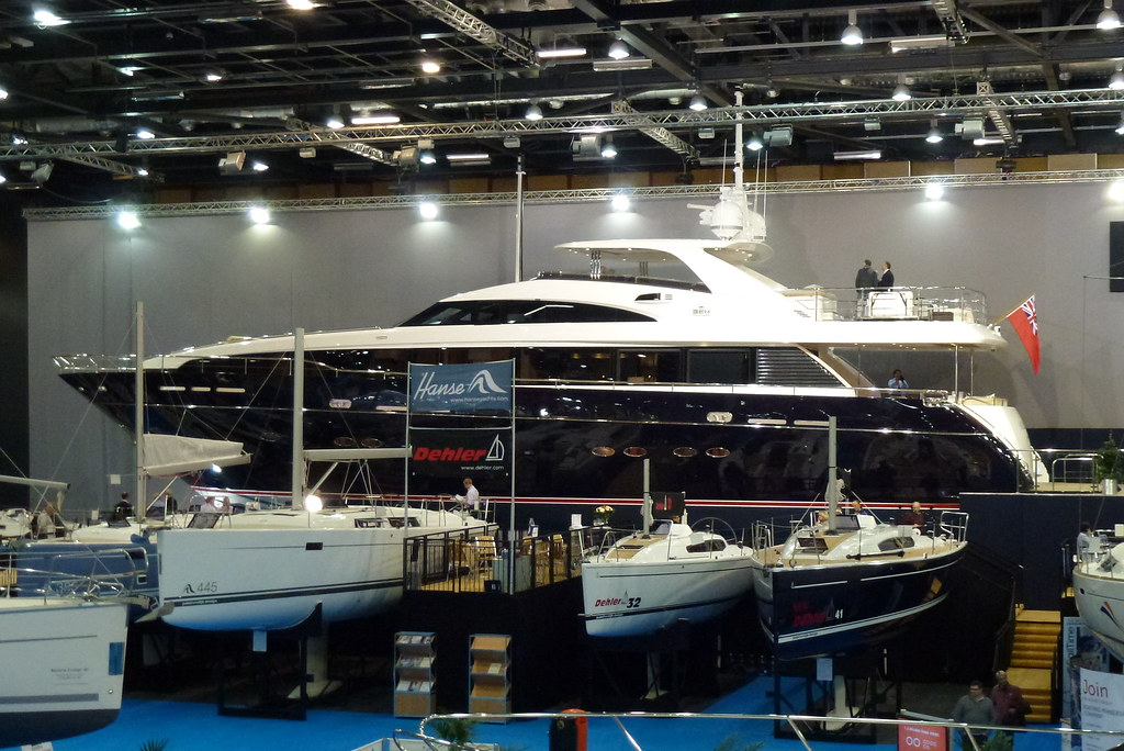 Princess 32M London Boat Show 2012