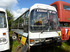 Keenan Leyland Leopard Duple Dominant II (miledorcha) Tags: bus abandoned coach transport leopard rusting express ayr southend coaches leyland keenan psv pcv withdrawn dominant ayrshire 208 donor duple drongan coalhall psu3e4r dominantii forspares bte208v