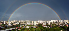 [PANORAMA] Just a Rainbow (Diego3336) Tags: light brazil urban panorama color colour reflection water colors rain brasil arcoiris rainbow colours saopaulo stitch widescreen pano wide arc optical panoramic arco faint optic microsoftice
