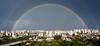 [PANORAMA] Just a Rainbow (Diego3336) Tags: light brazil urban panorama color colour reflection water colors rain brasil arcoiris rainbow colours saopaulo stitch widescreen pano wide arc optical panoramic arco faint optic microsoftice