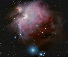 M42 - The Gem in Orion. 14 January 2012 (BudgetAstro) Tags: nikond70 astrophotography orion m42 dss m43 greatnebulainorion deepskystacker Astrometrydotnet:status=solved Astrometrydotnet:version=14400 Astrometrydotnet:id=alpha20120174604229
