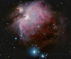 M42 - The Gem in Orion. 14 January 2012 (BudgetAstro) Tags: nikond70 astrophotography orion m42 dss m43 greatnebulainorion deepskystacker Astrometrydotnet:status=solved Astrometrydotnet:version=14400 Astrometrydotnet:id=alpha20120174604229