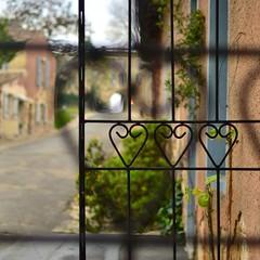 Coeurs de fer (H..L) Tags: grille fer citadelle coeurs aquitaine gironde blaye forg