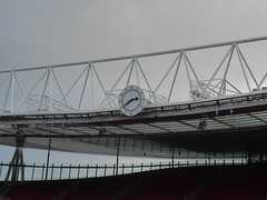 Clock end Emirates Stadium (kencmon) Tags: highbury arsenal emiratesstadium clockend