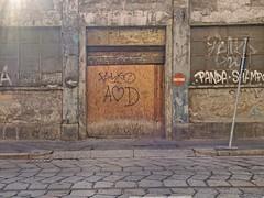 Via Lamarmora (d0minius) Tags: street art milano centro lombardia storico divieto accesso binario flickraward