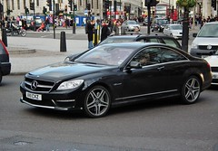 Mercedes-Benz CL65 AMG (kenjonbro) Tags: uk london trafalgarsquare mercedesbenz automatic coupe amg v12 60l biturbo 2011 cl65 worldcars c216 kenjonbro fujihs10 av11cvz