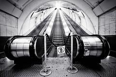 you shall not pass (Dennis_F) Tags: city white black station zeiss licht long prague metro sony capital escalator wide prag tunnel praha tschechien stadt czechrepublic fullframe dslr ultra lang ssm metrostation rolltreppe 1635 uwa weitwinkel ultrawideangle uww a850 163528 ceskrepublika sonyalpha sonydslr vollformat zeiss1635 sal1635z cz1635 sony1635 dslra850 sonya850 sonyalpha850 alpha850 sonycz1635