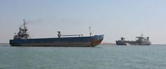 Ships on the Khor al-Zubair, Iraq
