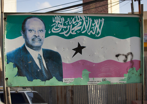 Somaliland late president Mohamed H.Ibrahim Egal (The Father of The Nation)