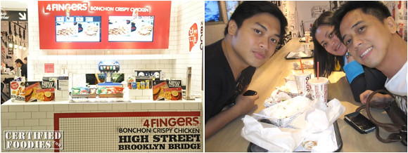 4 Fingers Bonchon Crispy Chicken in Singapore