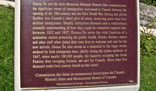 Information Sign, Grosse-Île