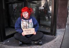 Sabrina (Charlie O'Hay) Tags: poverty philadelphia centercity homeless philly panhandling homelessness