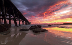 Now that's a Sunrise (The0dora Photography) Tags: water sunrise bay pier rocks hill catherine coal loader sigma1020 canon7d nd500 dorcam16
