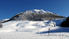 a Szekatura csúcs / the Secătura mountaintop (debreczeniemoke) Tags: winter snow landscape hiking mountaintop tájkép hó tél túra hegycsúcs szekatura canonpowershotsx20is gutinhegység munţiigutâi secătura munţiigutin