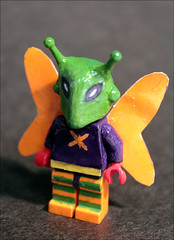 Killer Moth- custom Batman fig. (Fianat) Tags: lego batman killermoth