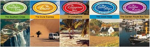 Shongololo Express -  The journeys
