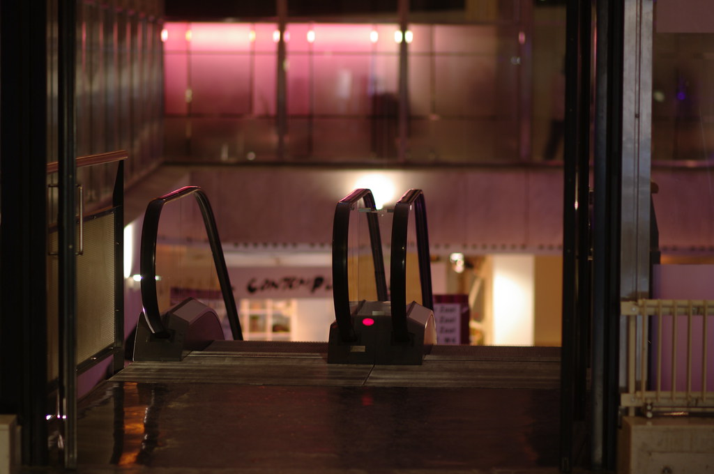 IFFR 2012: De Doelen escalator