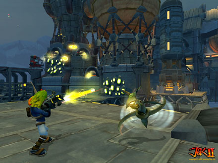 Jak II screenshot 5