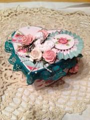 iarvalenblue (ALaVintageChic) Tags: handmade crafts valentine boxes treat goody