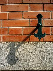 Window lock (MelindaChan ^..^) Tags: light shadow red brick window wall hongkong pattern lock mel shade melinda  courtoffinalappeal  chanmelmel melindachan