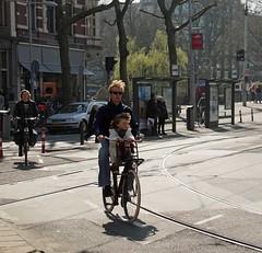 Amsterdam, Leidesestraat, Papafiets_edited-1 (Nik Morris (van Leiden)) Tags: amsterdam bike bicycles leidseplein fietsen fiets papafiets