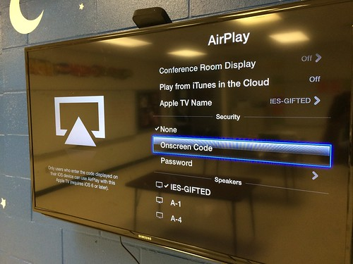 Select Onscreen Code for Apple TV AirPla by Wesley Fryer, on Flickr