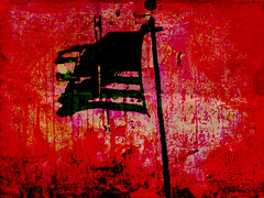 redflag (Humphrey King) Tags: red usa art texture america stars democracy artwork unitedstates symbol stripes flag politics pole government pledge allegiance