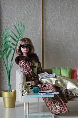 Fashion Avenue (moogirl2) Tags: miniatures barbie variety mattel diorama 90s americangirl midcenturymodern repro fashionavenue barbiefashions carolynallen 90sfashions