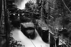 Forgotten (18mm & Other Stuff) Tags: bridge england blackandwhite water nikon chester slowshutter theolddeebridge d7200 longexposuremonochrome