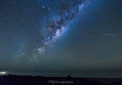 The sky is always greener (nightscapades) Tags: sky mars night stars astrophotography astronomy saturn southcoast kiama nightscapes milkyway 14mm airglow galacticcore toolijooa
