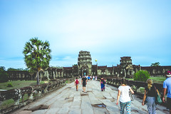 Angkor Wat, it's time to say goodbye ! (mnt.studio) Tags: travel people architecture leaving temple photography moving ancient cambodia angkorwat goodbye siemreap