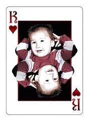 King of Hearts (l plater) Tags: grandson elliot playingcard kingofhearts
