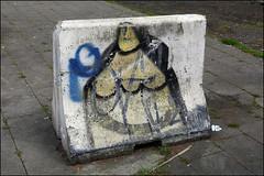Creon (Alex Ellison) Tags: brussels urban pencil graffiti belgium boobs graff crayon creon europeangraffiti creons belgiangraffiti