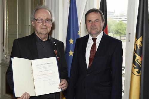 Bundesverdienstkreuz für Dr. Gerhard Dieter