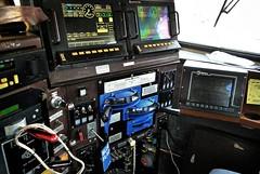 Locomotive control stand, General Electric C44-9W (BDM17) Tags: railroad electric train stand control dynamic general ns air norfolk engine 9 rail railway southern dash controls locomotive brake positive ge throttle ptc c449w