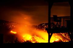 Monument Fire (Dawnsview) Tags: arizona night danger fire scary pentax burning forestfire wildfire sierravista