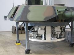 Abrams turret simulator (Ian Ruotsala) Tags: abrams turret fhc flyingheritagecollection tankfest