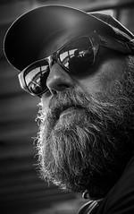 Bearded man (wigerl) Tags: light blackandwhite bw man 35mm beard austria licht photo sterreich europa europe fuji foto mail bart krnten carinthia mann gokart kartrennen amtc 2016 fahrtechnikzentrum fuji35mm14 fujixt1 akkartrenne
