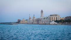 Just Bari (/ Elena Torelli) Tags: sea sky italy seaside italia riva shore lungomare puglia bari apulia