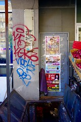 Kez5 (alwaysanalias) Tags: kgk kez5 kez manhattan nyc art street sidewalk spraypaint vandalism graffiti handstyle tags