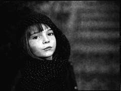 pola (apasz) Tags: portrait 120 film girl zeiss mediumformat blackwhite kid child 1999 contax analogue ilfordxp2 expired planar 802 contax645 c41 zeissplanar802