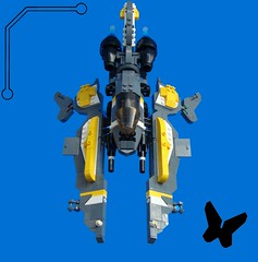 Monarch Viper -Vipershot- (aabbee 150) Tags: butterfly lego space 150 monarch vic viper foitsop aabbee