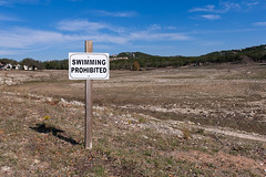 Swimming Prohibited at Lake Travis 2011 (Jon LaChance) Tags: lake texas drought laketravis lagovista traviscounty texasdrought texasdrougt2011