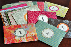 advent envelopes (Lynn Carson Harris) Tags: paper advent numbers surprise stamping countdown envelopes funmail fundayathome forcollegekids